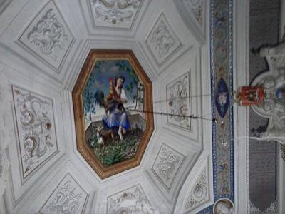 2bTetto del salone dei lanceri del palazzo Notaro ok